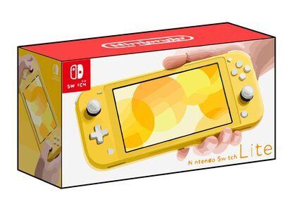 Nintendo Switch Lite イエローの写真