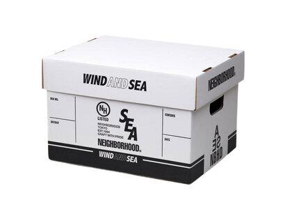 Wind And Sea × Neighborhood Nhwds / P-Storage Box Whiteの写真