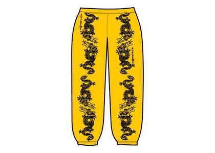 Supreme Dragon Track Pant Yellow (SS21)の写真