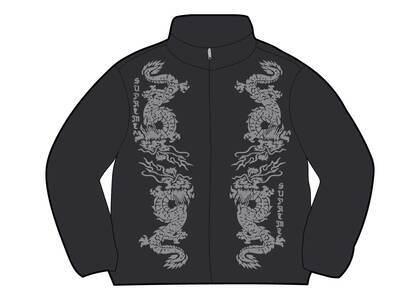 Supreme Dragon Track Jacket Black (SS21)の写真