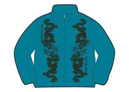 Supreme Dragon Track Jacket Blue (SS21)の写真