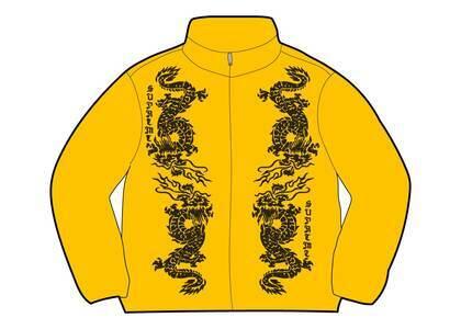 Supreme Dragon Track Jacket Yellow (SS21)の写真
