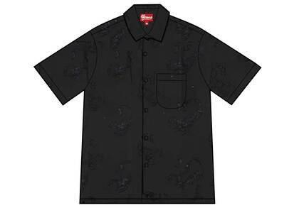 Supreme Scorpion Jacquard S/S Shirt Black (SS21)の写真