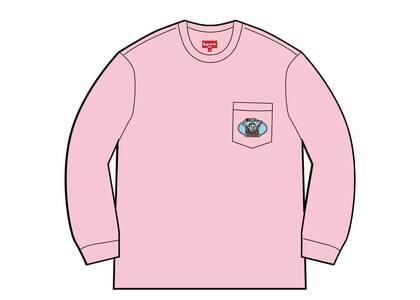 Supreme Vampire Boy L/S Pocket Tee Pink (SS21)の写真
