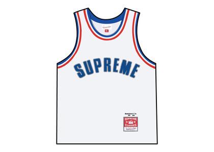 Supreme Mitchell & Ness Basketball Jersey White (SS21)の写真