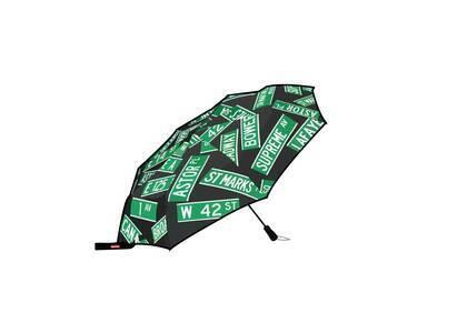 Supreme ShedRain Street Signs Umbrella Black (SS21)の写真