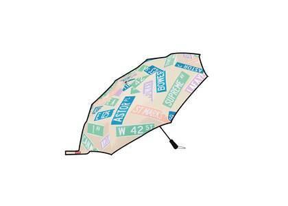 Supreme ShedRain Street Signs Umbrella White (SS21)の写真