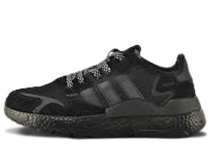 adidas Nite Jogger Core Black Carbon Black Boostの写真