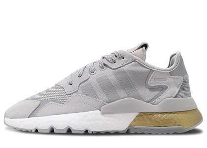 adidas Nite Jogger Grey Two Gold Metallicの写真