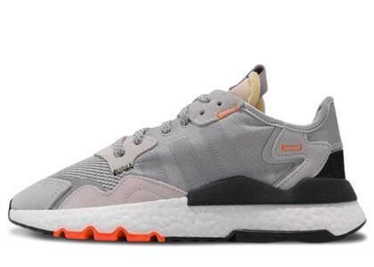 adidas Nite Jogger Grey Two Solar Orangeの写真