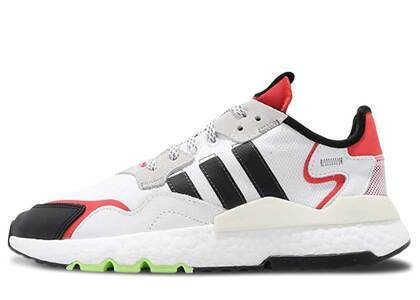 adidas Nite Jogger White Black Redの写真