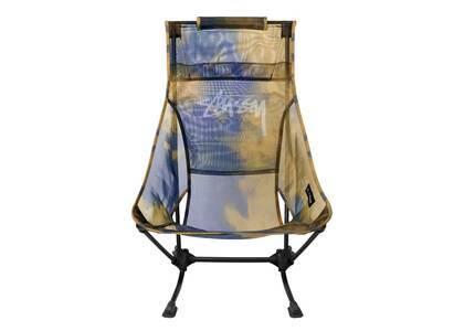 Helinox × Stussy Mesh Beach Chair Blue/Yellow (SS21)の写真