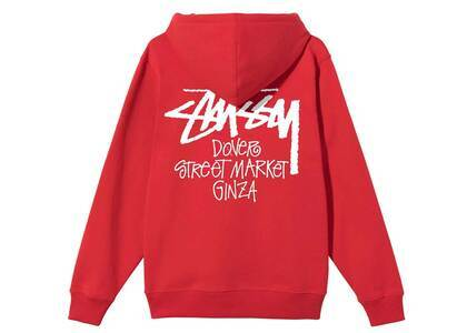 Dover Street Market Ginza × Stussy Stock Hood Red (SS21)の写真