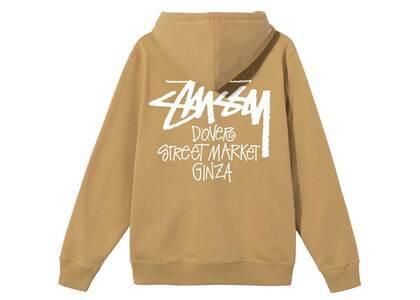 Dover Street Market Ginza × Stussy Stock Zip Hood Khaki (SS21)の写真