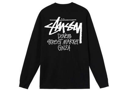 Dover Street Market Ginza × Stussy Stock LS Tee Black (SS21)の写真