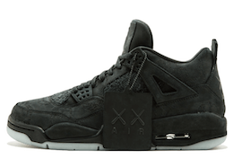 Kaws × Nike Air Jordan 4 Retro Blackの写真