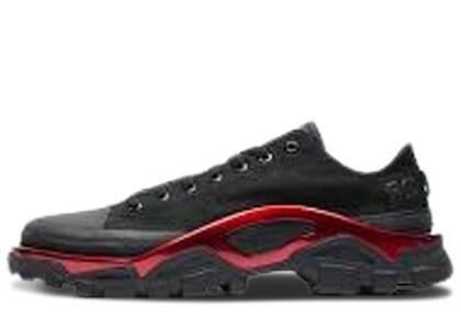 adidas New Runner Raf Simons Black Scarletの写真
