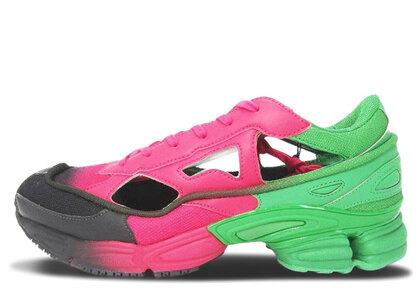 adidas Replicant Ozweego Raf Simons Green Vivid Berryの写真