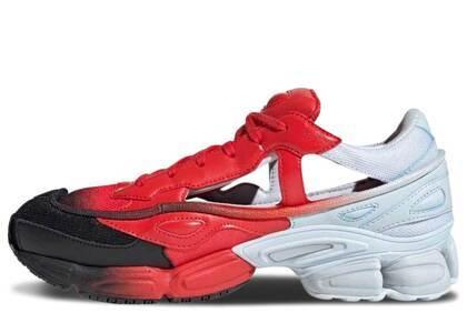 adidas Replicant Ozweego Raf Simons Halo Blue Redの写真