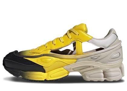 adidas Replicant Ozweego Raf Simons Clear Brown Yellowの写真