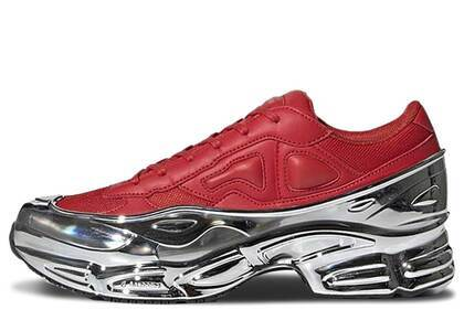 adidas Ozweego Raf Simons Red Silver Metallicの写真