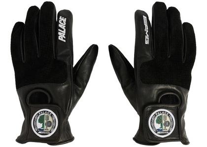 Palace AMG Driving Gloves Black (SS21)の写真