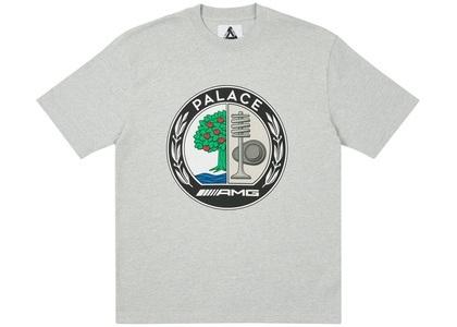 Palace AMG Emblem T-Shirt Grey Marl (SS21)の写真