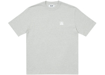 Palace Square Patch T-Shirt Grey Marl (SS21)の写真
