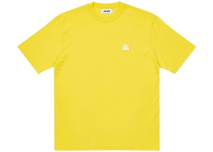 Palace Square Patch T-Shirt Yellow (SS21)の写真