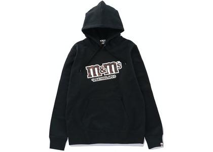 Bape × M&M's Mens College Pullover Hoodie Black (SS21)の写真