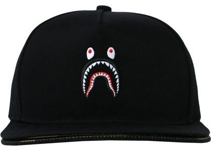 Bape Double Visor Shark Snapback Cap Black (SS21)の写真