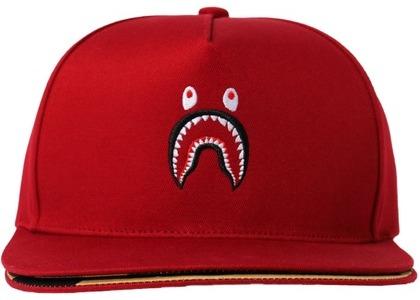 Bape Double Visor Shark Snapback Cap Red (SS21)の写真