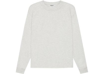 ESSENTIALS Long Sleeve T-Shirt Light Heather Oatmeal (SS21)の写真