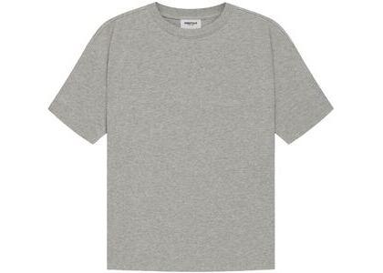 ESSENTIALS T-Shirt Dark Heather Oatmeal (SS21)の写真