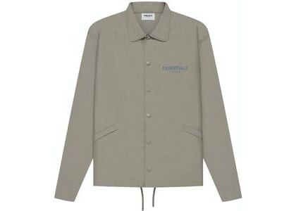 ESSENTIALS Coaches Jacket Taupe (SS21)の写真