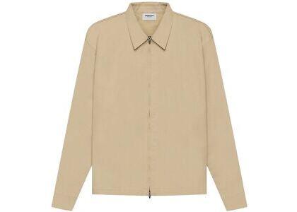 ESSENTIALS Twill Jacket Khaki (SS21)の写真