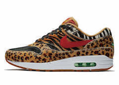 ATMOS × NIKE AIR MAX 1 DLX ANIMAL PACKの写真