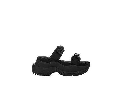 YELLO Tokyo Black Single Sneaker Sandals Blackの写真