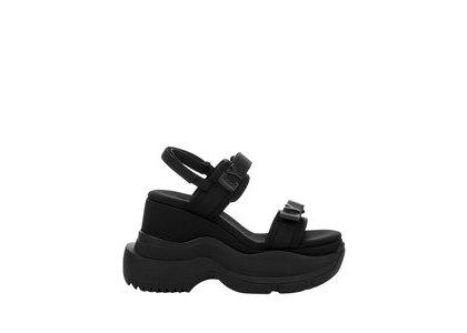 YELLO Tokyo Black Doudle Sneaker Sandals Blackの写真