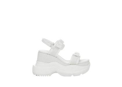 YELLO Weiss Double Sneaker Sandals Whiteの写真
