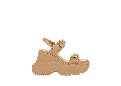 YELLO Naked Double Sneaker Sandals Beigeの写真