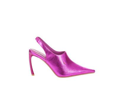 YELLO Fortune Teller Mules Pinkの写真