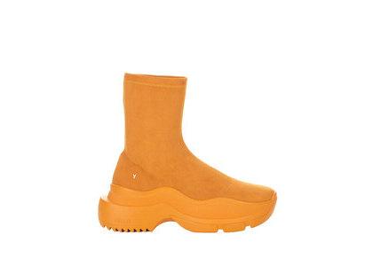 YELLO Carameliser Sneaker Short Boots Orangeの写真