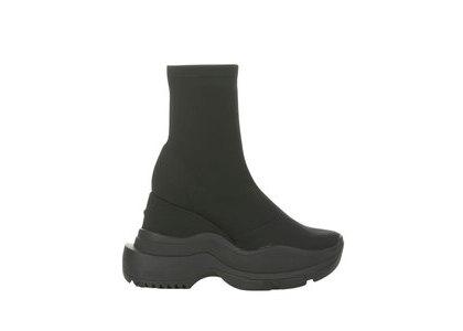 YELLO Tokyo Black Sneaker Short Boots Blackの写真