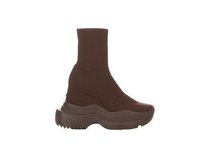 YELLO Espresso Sneaker Short Boots Brownの写真