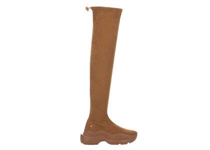 YELLO Cinnamon Sneaker Long Boots Brownの写真