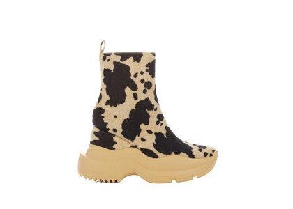 YELLO Montana Sneaker Short Boots Black/Whiteの写真