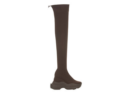YELLO Espresso Sneaker Long Boots Brownの写真