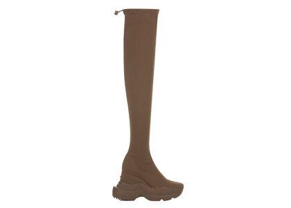 YELLO Hazelnut Sneaker Long Boots Brownの写真