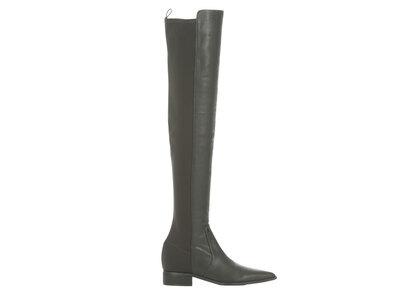 YELLO Bosco Flat Long Boots Blackの写真
